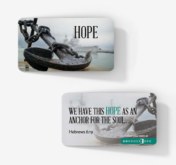"""Hope with anchor cards"""